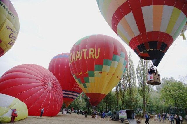 Фестиваль воздухоплавания стартовал в Пятигорске