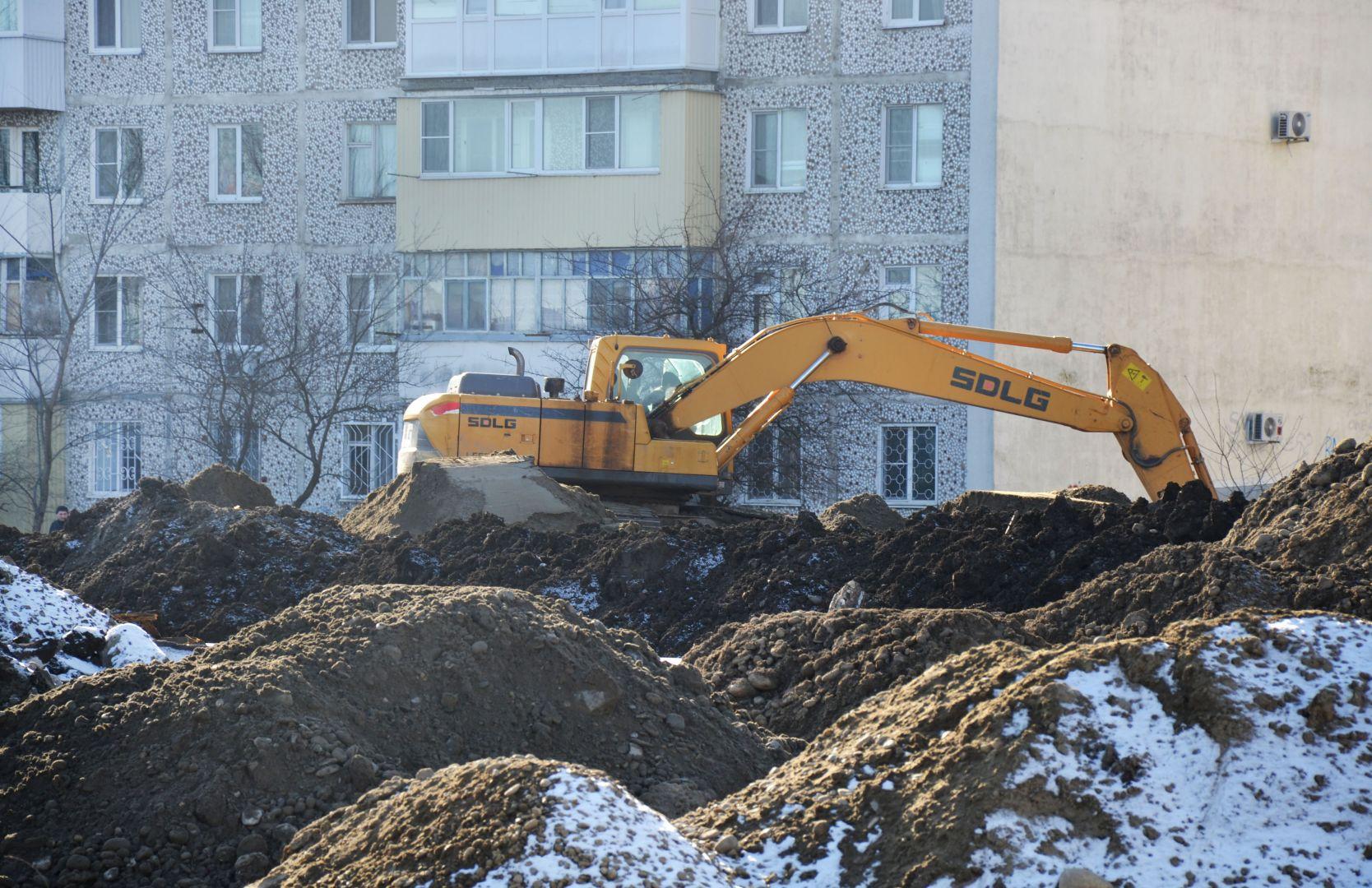 В Невинномысске полным ходом идёт строительство нового путепровода