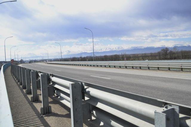 Более 40 тысяч погонных метров барьерного ограждения установят на федеральных трассах СКФО