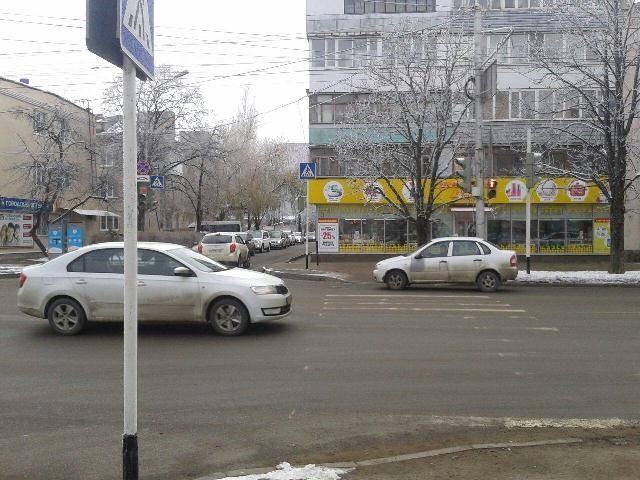 В Ставрополе 78-летний водитель сбил пенсионерку на пешеходном переходе