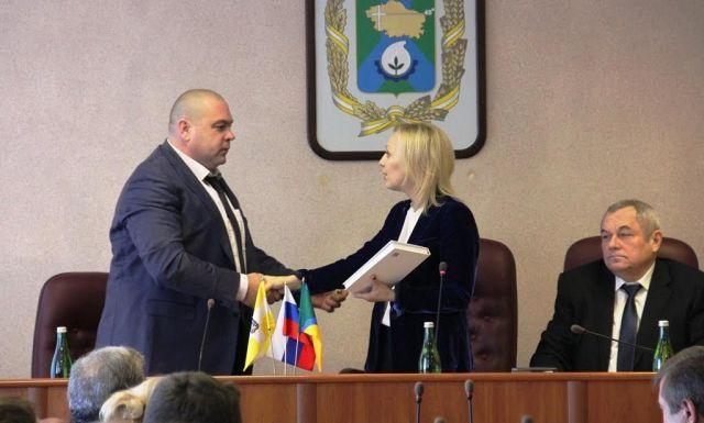Ольга Тимофеева поздравила Михаила Миненкова с избранием на должность главу Невинномысска