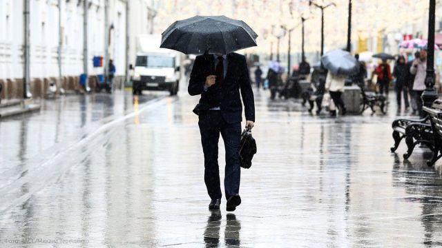 В ближайшие три часа на Ставрополье ожидается сильный грозовой дождь