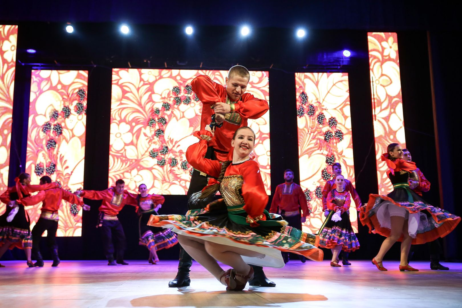 В Ставрополе прошёл Всероссийский танцевальный фестиваль