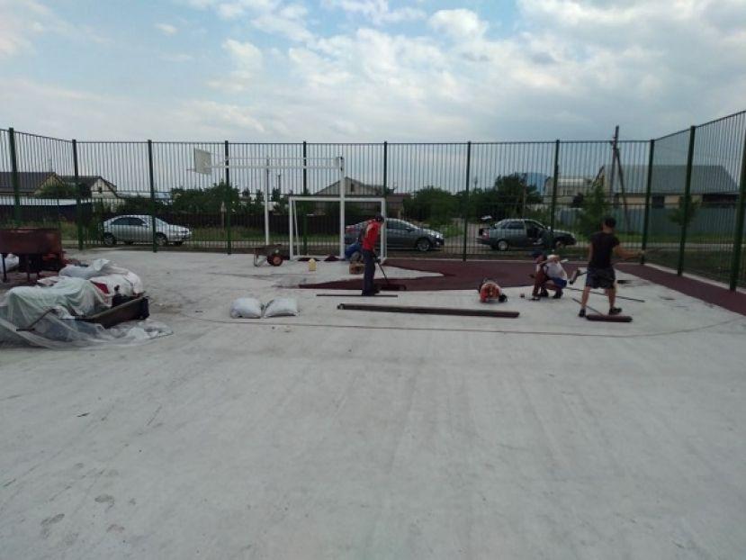 В посёлке Загорском Минераловодского округа появится новая спортплощадка