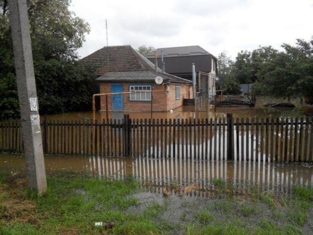 На Ставрополье из-за ливневых дождей частично приостановлено газоснабжение 8 населённых пунктов