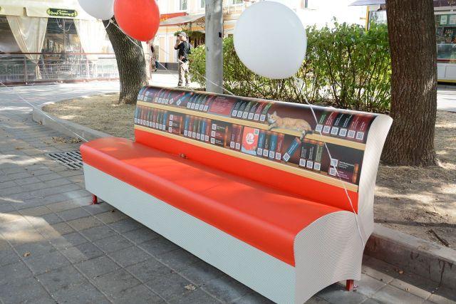 В Ставрополе появились литературные скамейки