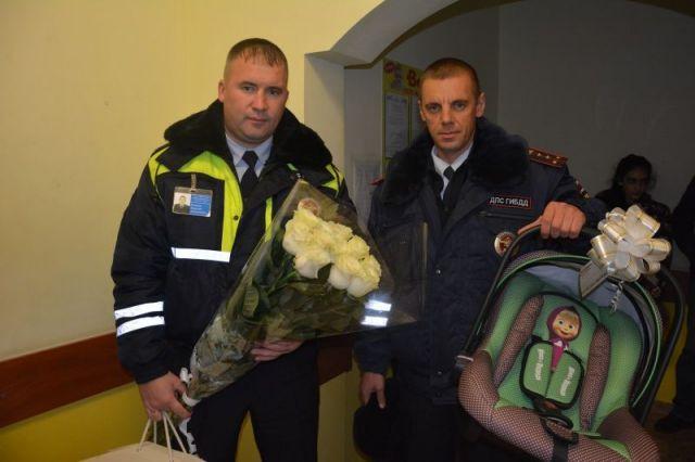 На Ставрополье сотрудники Госавтоинспекции помогли беременной женщине своевременно добраться до роддома