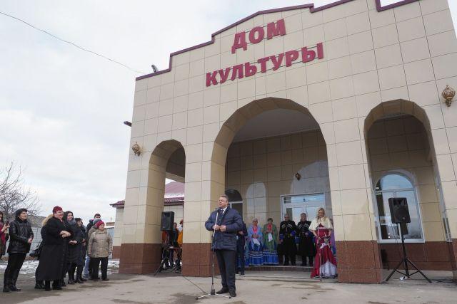Ещё два Дома культуры заработали в Ставропольском крае