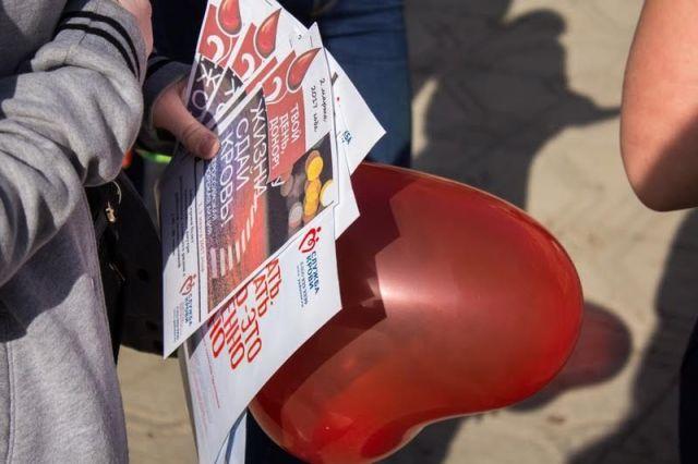На Ставрополье полицейские провели благотворительную акцию «Дай дорогу жизни, сдай кровь!»