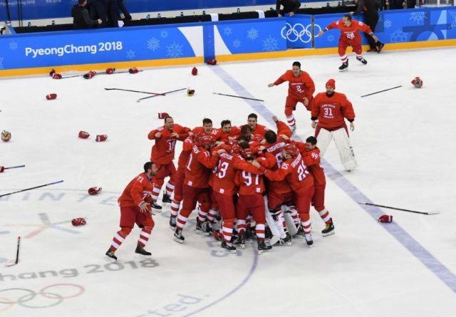 Ставропольцы бурно обрадовались волевой победе российских хоккеистов в финале Олимпиады