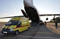 Тяжело больного жителя Ставрополья эвакуировали в Москву
