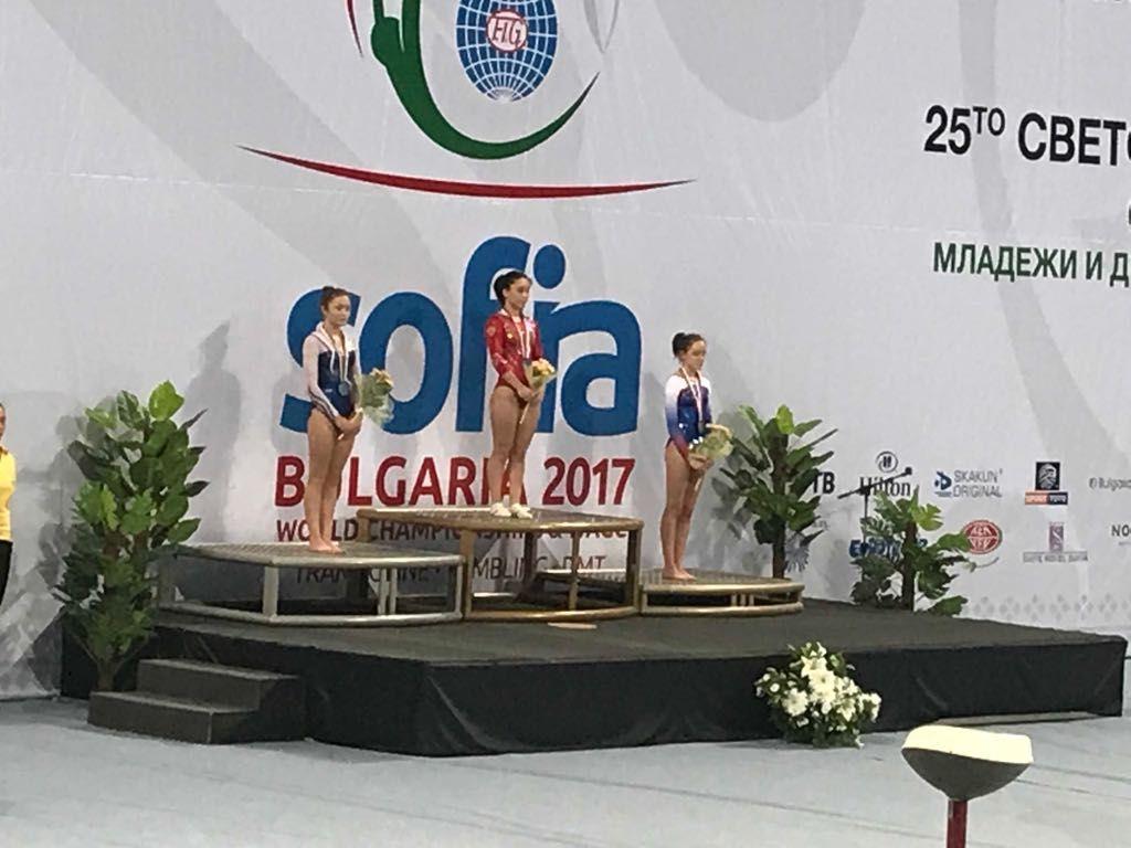 Прыгунья изНевинномысска стала чемпионкой мира