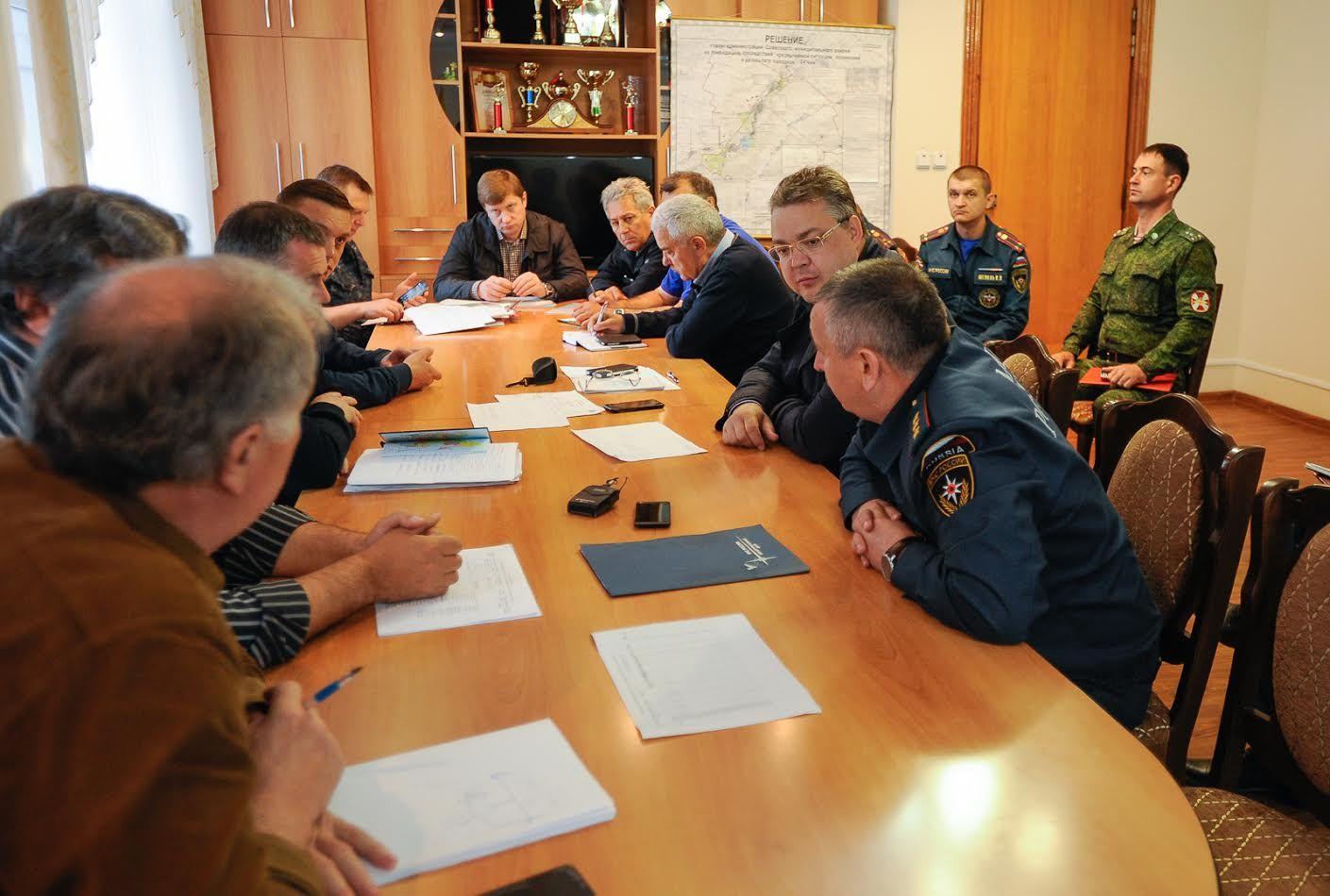 Паводковая ситуация вСоветском районе остаётся под контролем— Губернатор Ставрополья