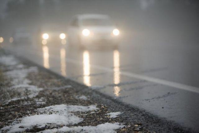 ГИБДД: Дождь и мокрый снег при минусовой температуре могут спровоцировать ДТП