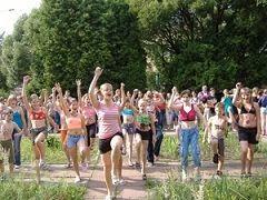 Более 300 школьников приняли участие в спартакиаде среди пришкольных лагерей