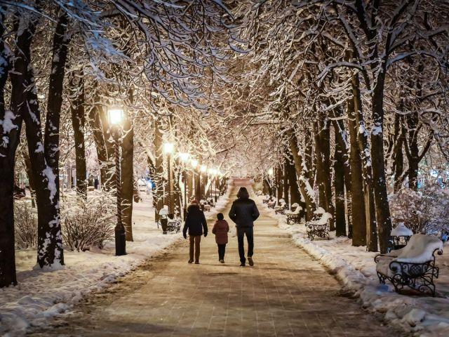 В Ставрополь пришла красавица-зима