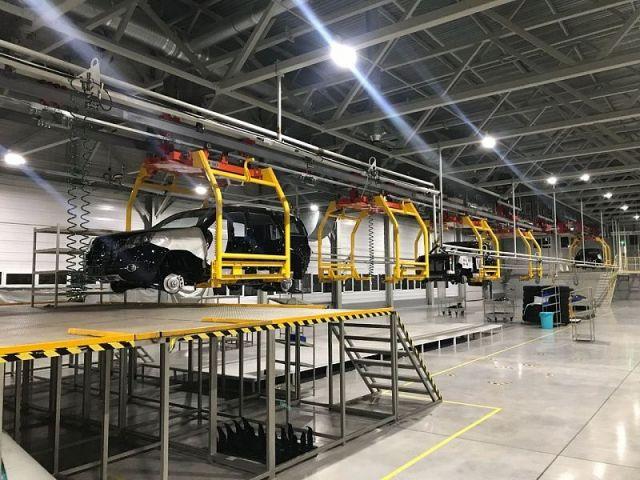 Строительство завода «Ставрополь Авто» вступило в завершающую стадию