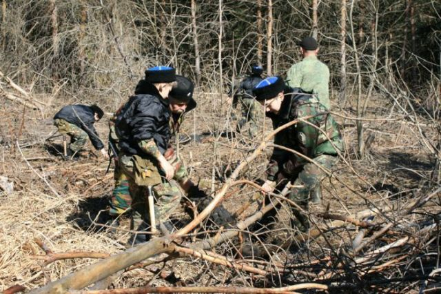 Ставропольские кадеты патрулируют леса
