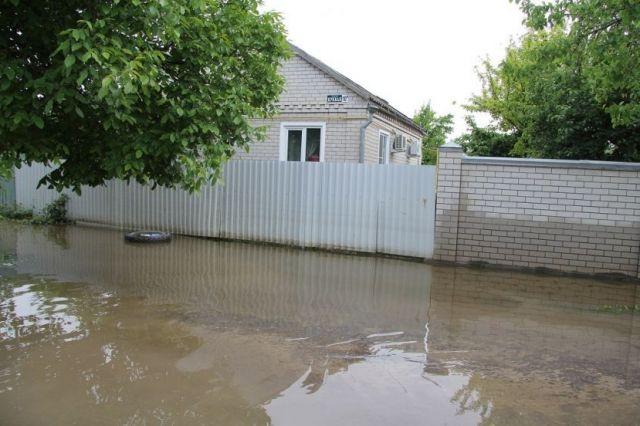 Уровень воды в реках Ставропольского края за сутки снизился на 15-20 сантиметров