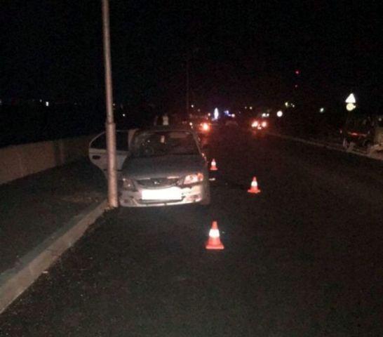 Пьяный водитель стал виновником ДТП вблизи Будённовска, в котором скончался один пассажир