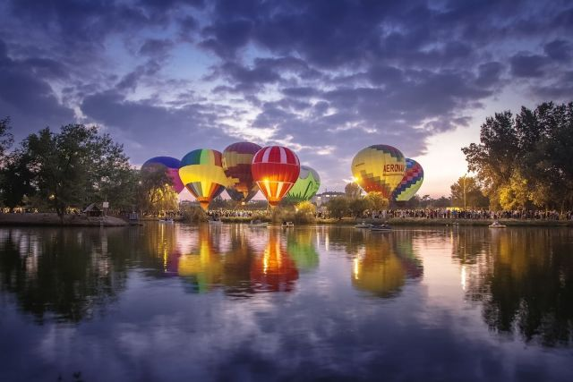 В Пятигорске стартует международный фестиваль воздушных шаров