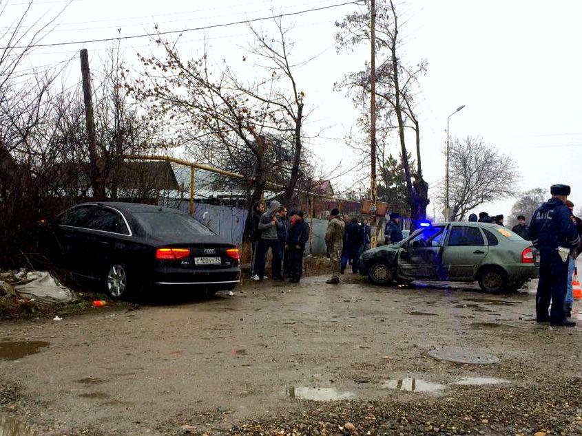 Заместитель генерального прокурора СКФО на«Ауди» попал в трагедию