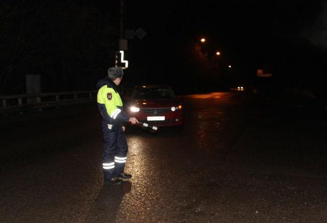 Ставропольские полицейские в ходе погони задержали пьяного водителя