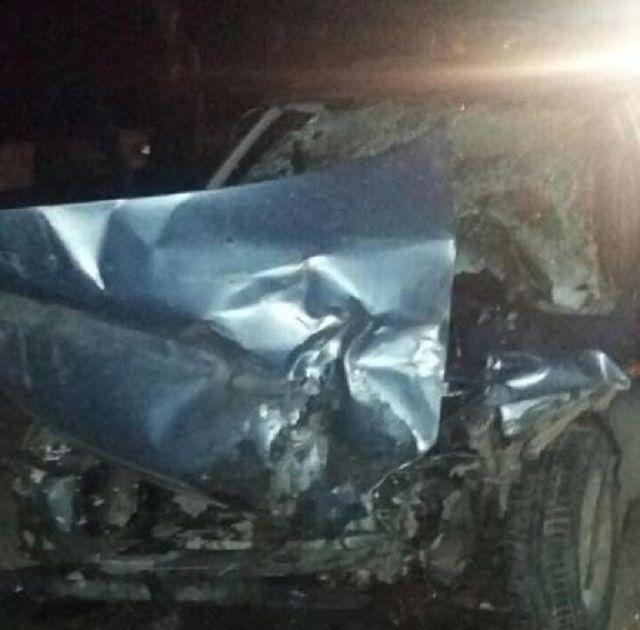 НаСтаврополье шофёр «Калины» умер вДТП с фургоном