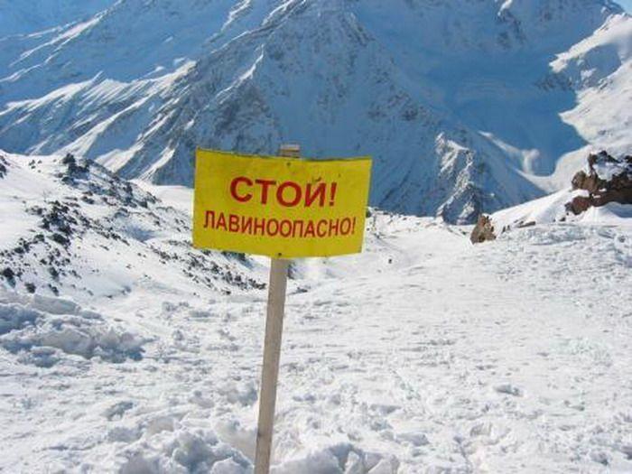 Из-за схода лавины закрыта Транскавказская магистраль— МЧС