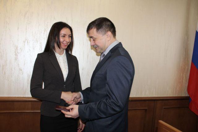 Новые судьи Ставрополья получили удостоверения