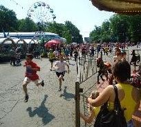 Жители города поучаствовали в массовом легкоатлетическом забеге