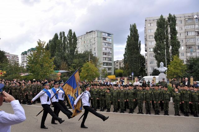 В ставропольской кадетской школе имени генерала Ермолова отпраздновали день рождения