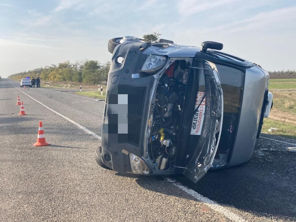 Два человека пострадали в ДТП с маршруткой в Ставропольском крае