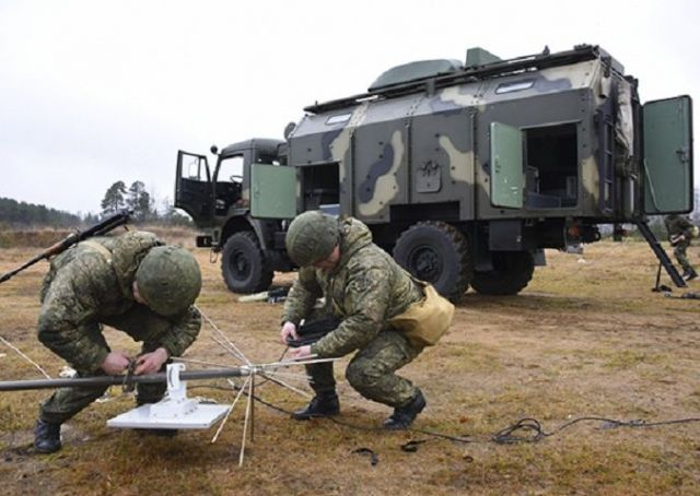 В Ставропольском крае прошли учения войск радиоэлектронной борьбы