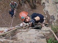 В Кисловодске завершились традиционные старты скалолазов