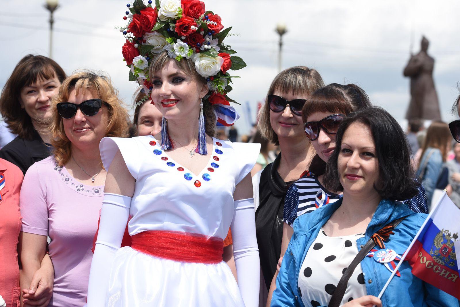 Ставропольцы масштабно отметили День России