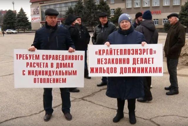 В Петровском округе Ставрополья прошёл митинг жителей МКД