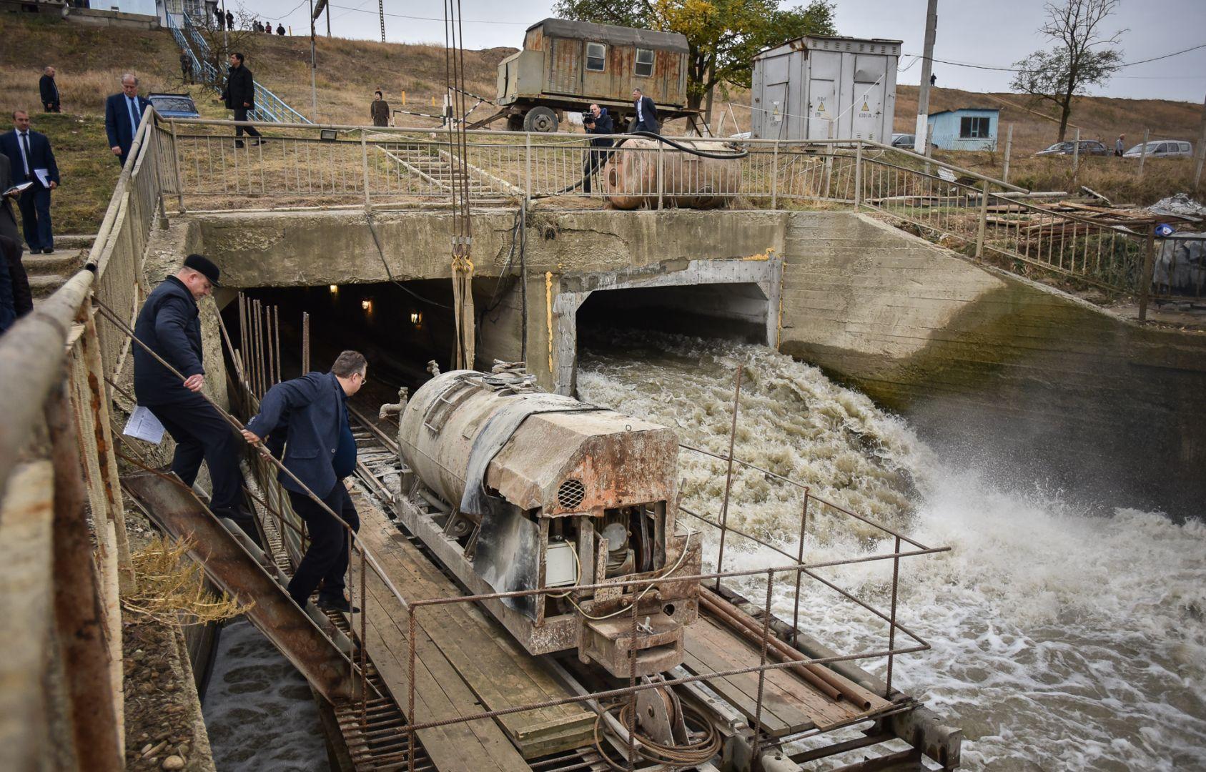 Губернатор Ставрополья проверил ход восстановления дамбы Отказненского водохранилища