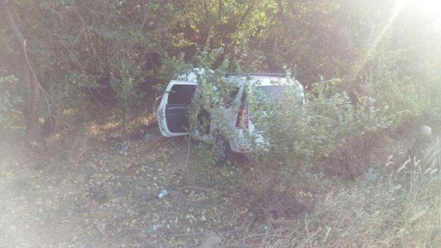 На Ставрополье легковушка врезалась в дерево, погиб 80-летний водитель