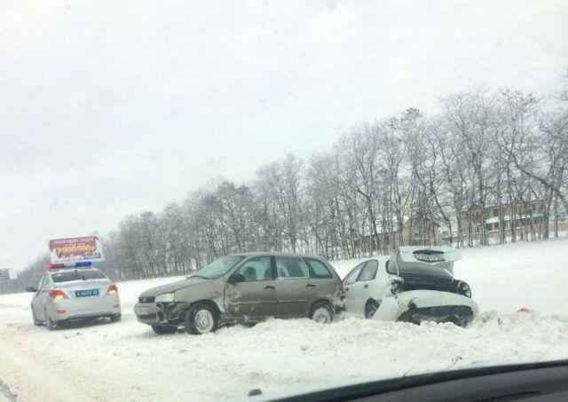 На Ставрополье увеличилось количество ДТП из-за неблагоприятных погодных условий