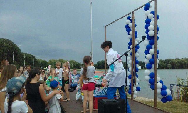 Жители Ессентуков устроили «мокрый» праздник