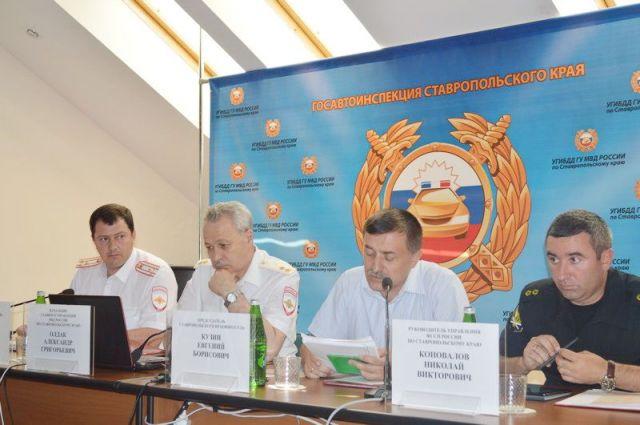 Сотрудники Госавтоинспекции Ставропольского края подвели итоги работы за шесть месяцев