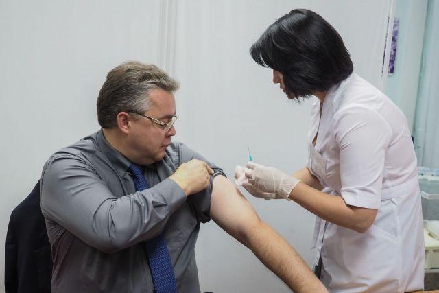 Глава Ставрополья призвал земляков пройти вакцинацию против гриппа