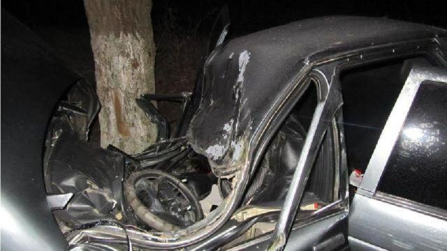 На Ставрополье водитель погиб, въехав в дерево