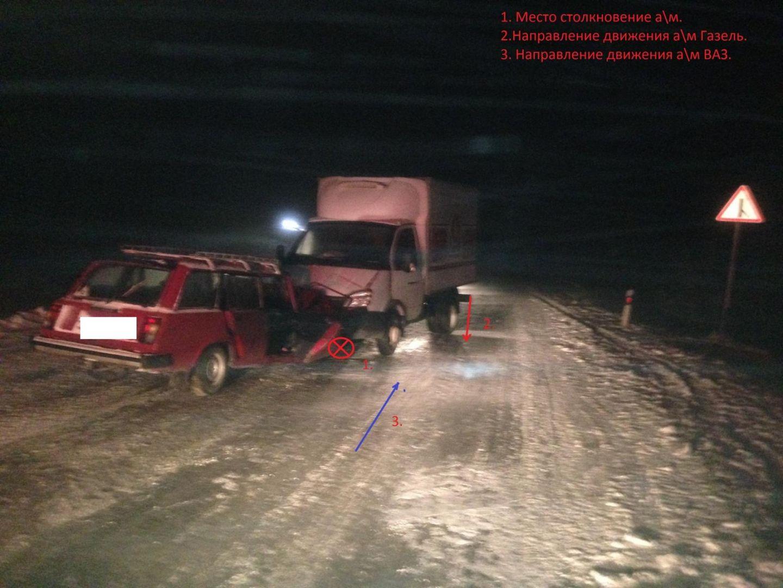 НаСтаврополье шофёр «ВАЗа» умер вДТП с«ГАЗелью»