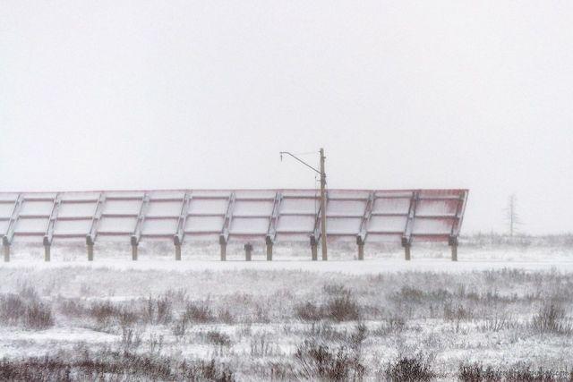 На ставропольских трассах появятся щиты для задержки снега
