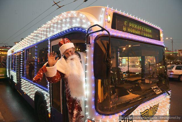 Ставропольцев приглашают на дискотеку в новогоднем троллейбусе
