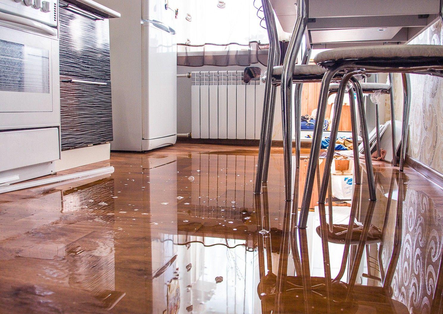затопленная квартира фото