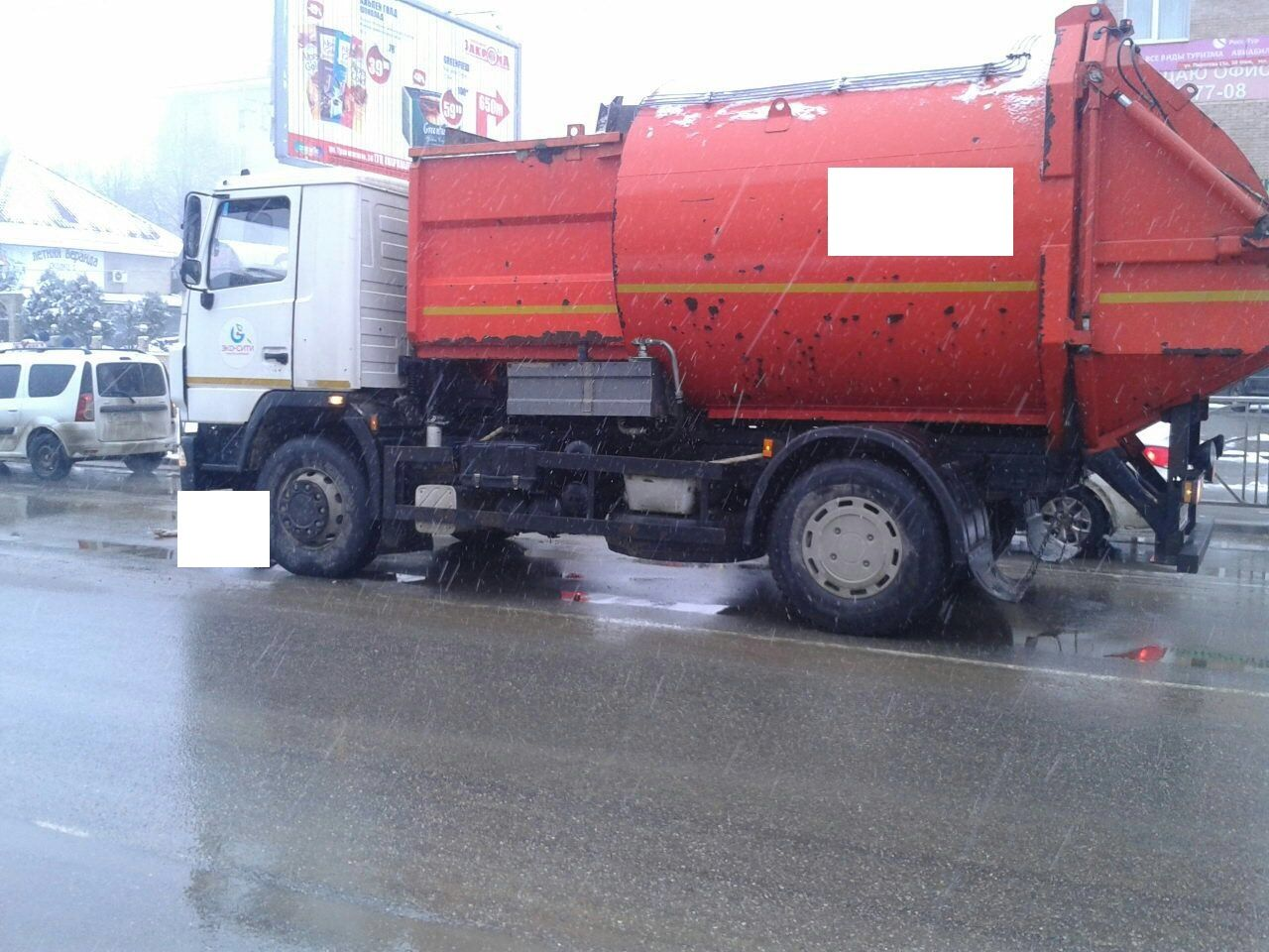 В Ставрополе под колёсами мусоровоза погибла пожилая женщина