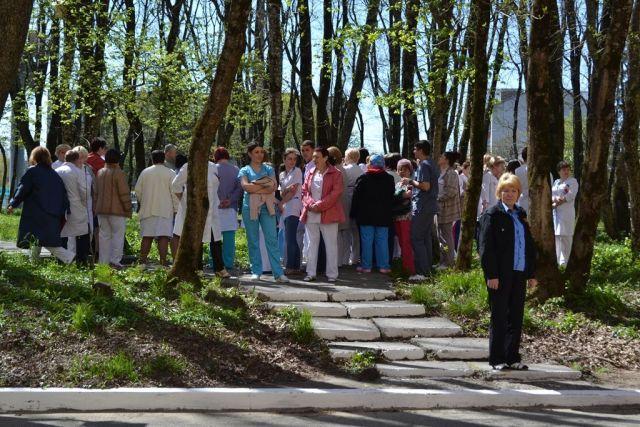 В Ставрополе из-за «пожара» эвакуировали пациентов краевой больницы